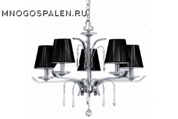 Люстра ACCADEMY SP5 (Ideal Lux) купить в салоне-студии мебели Барселона mnogospalen.ru много спален мебель Италии классические современные