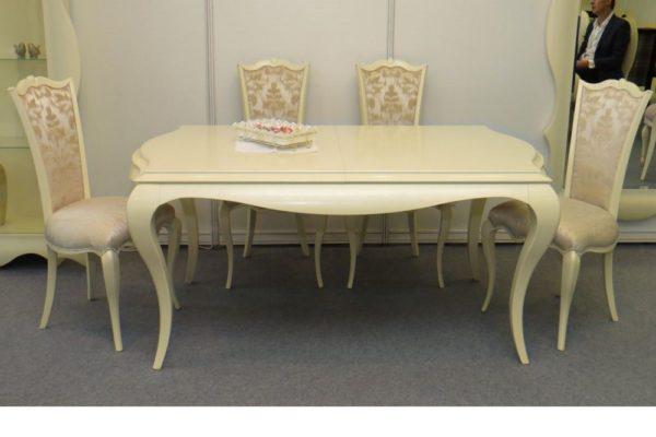 Стол Stefani купить в салоне-студии мебели Барселона mnogospalen.ru много спален мебель Италии классические современные