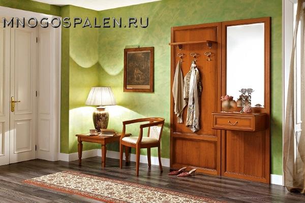 ПРИХОЖАЯ NOSTALGIA композиция 4 Camelgroup купить в салоне-студии мебели Барселона mnogospalen.ru много спален мебель Италии классические современные