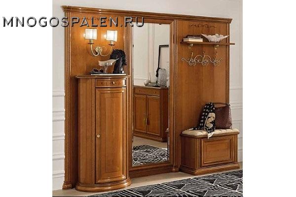 ПРИХОЖАЯ SIENA ciliegio композиция 11 Camelgroup купить в салоне-студии мебели Барселона mnogospalen.ru много спален мебель Италии классические современные