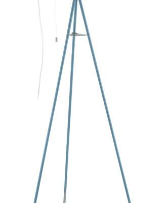 49046 Торшер CHESTER-P, 1х60W(E27), сталь/пастельн темно-синий, серебристый, L600, B600, H1355  с шн купить в салоне-студии мебели Барселона mnogospalen.ru много спален мебель Италии классические современные
