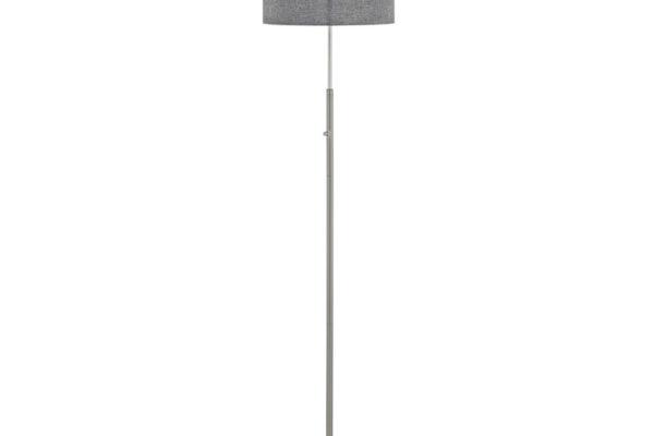 95353 Светодиод. торшер ROMAO с сенсор. диммером, 24W (LED), ?380, H1615, сталь, никель мат., хром/т купить в салоне-студии мебели Барселона mnogospalen.ru много спален мебель Италии классические современные