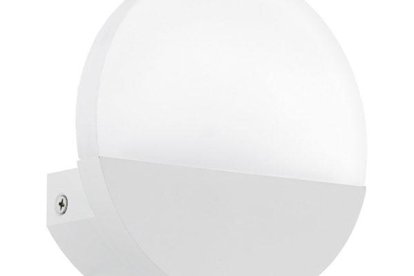 96039 Светодиодное бра METRASS 1, 5W(LED), L130, H130, алюминий, белый/пластик, мат. купить в салоне-студии мебели Барселона mnogospalen.ru много спален мебель Италии классические современные