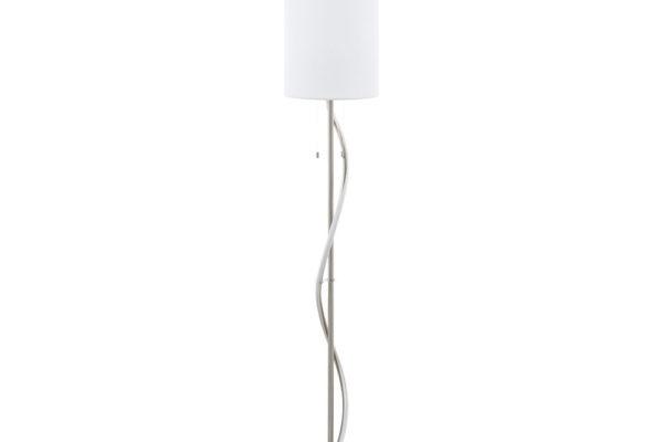 98309 Торшер ESPARTAL с LED лампой для чтен., 1X60W (E27), 11,8W(LED), ?250, H1485, сталь, алюминий, купить в салоне-студии мебели Барселона mnogospalen.ru много спален мебель Италии классические современные