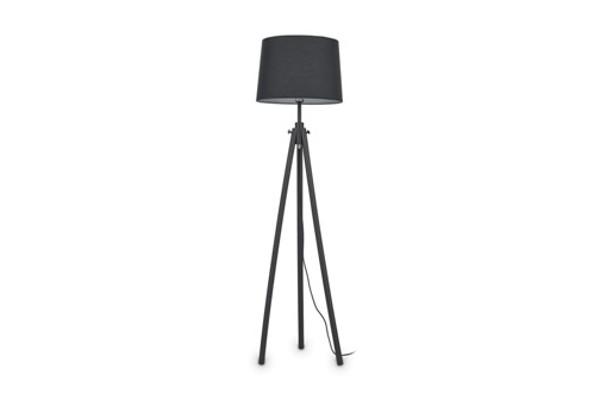 Торшер YORK PT1 NERO Ideal Lux купить в салоне-студии мебели Барселона mnogospalen.ru много спален мебель Италии классические современные